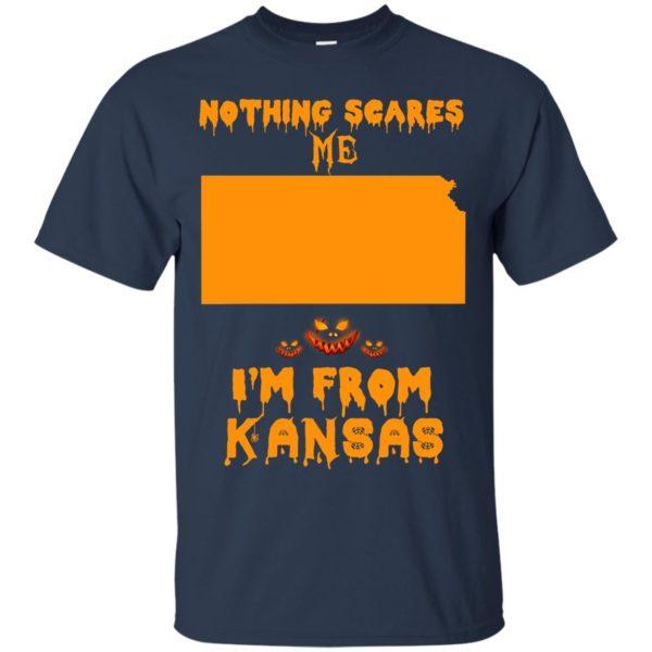 image 257 600x600 - Halloween: Nothing Scares Me I'm From Kansas shirt, hoodie, tank