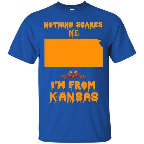 image 258 600x600 - Halloween: Nothing Scares Me I'm From Kansas shirt, hoodie, tank