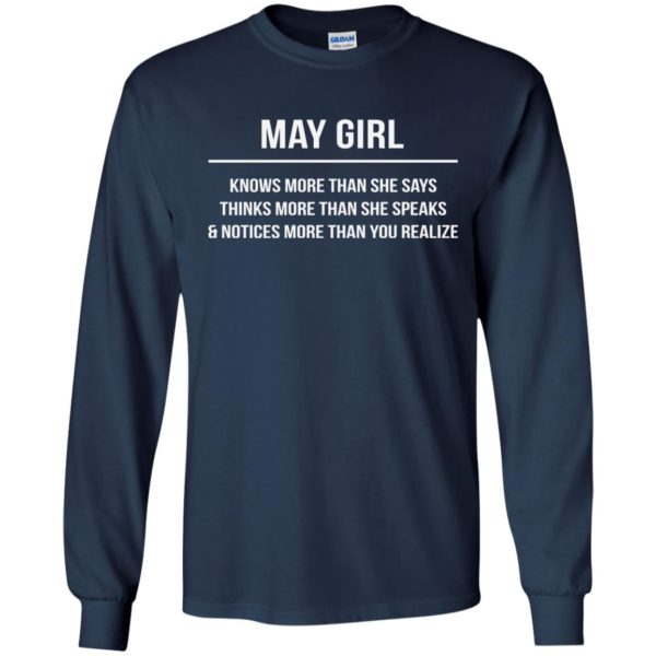 image 2580 600x600 - May girl knows more than she says shirt, tank top, hoodie