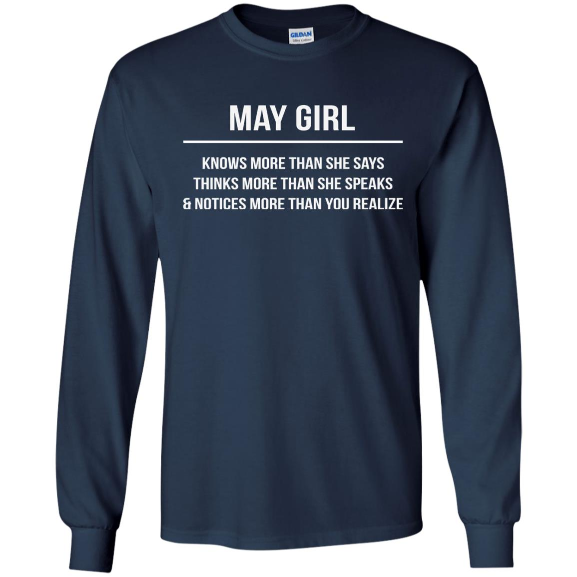 image 2580 - May girl knows more than she says shirt, tank top, hoodie