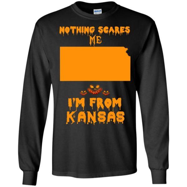 image 259 600x600 - Halloween: Nothing Scares Me I'm From Kansas shirt, hoodie, tank