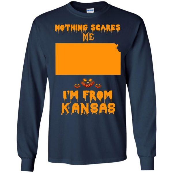 image 260 600x600 - Halloween: Nothing Scares Me I'm From Kansas shirt, hoodie, tank