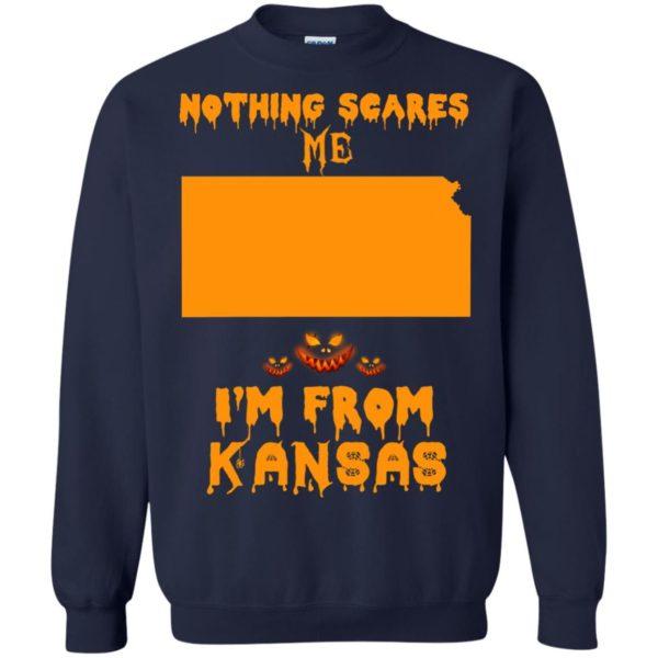 image 264 600x600 - Halloween: Nothing Scares Me I'm From Kansas shirt, hoodie, tank