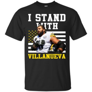 image 2686 300x300 - Pittsburgh Steelers: I Stand With Villanueva t-shirt, tank top