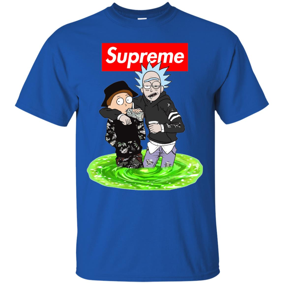 image 2741 - Supreme style Rick and Morty shirt & sweater