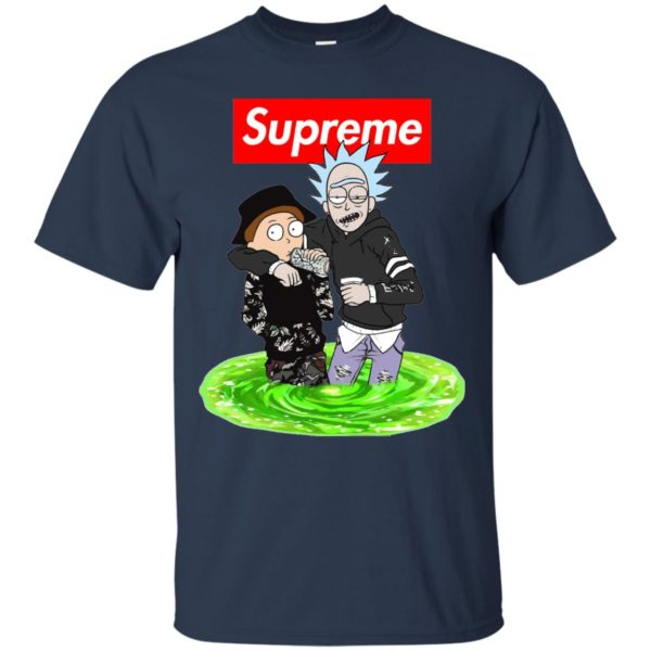 image 2742 600x600 - Supreme style Rick and Morty shirt & sweater