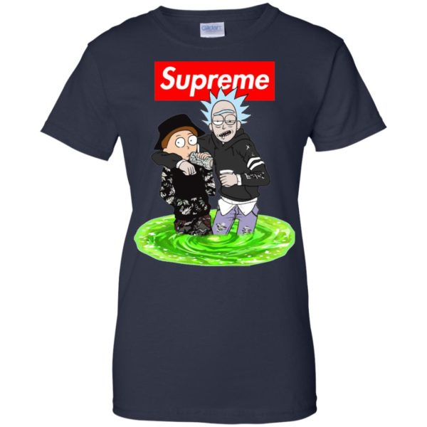 image 2749 600x600 - Supreme style Rick and Morty shirt & sweater