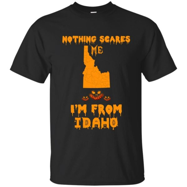 image 282 600x600 - Halloween: Nothing Scares Me I'm From Idaho shirt, hoodie, tank