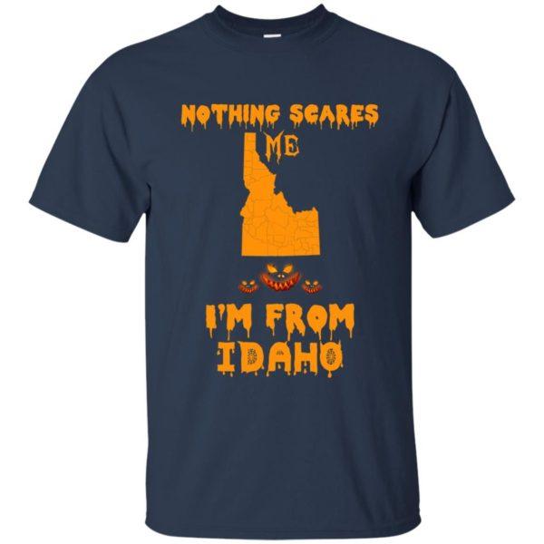 image 284 600x600 - Halloween: Nothing Scares Me I'm From Idaho shirt, hoodie, tank