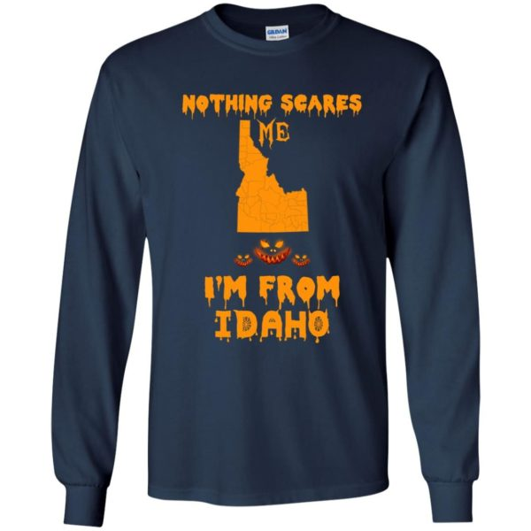 image 286 600x600 - Halloween: Nothing Scares Me I'm From Idaho shirt, hoodie, tank