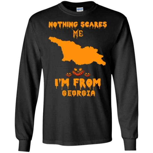 image 298 600x600 - Halloween: Nothing Scares Me I'm From Georgia shirt, hoodie, tank