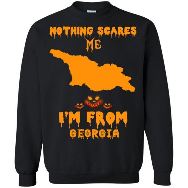 image 302 600x600 - Halloween: Nothing Scares Me I'm From Georgia shirt, hoodie, tank