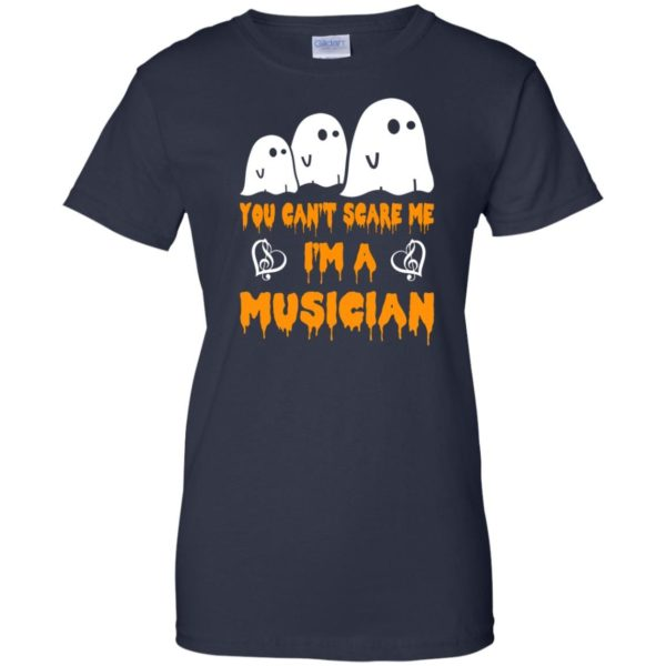 image 396 600x600 - You can't scare me I'm a Musician shirt, hoodie, tank