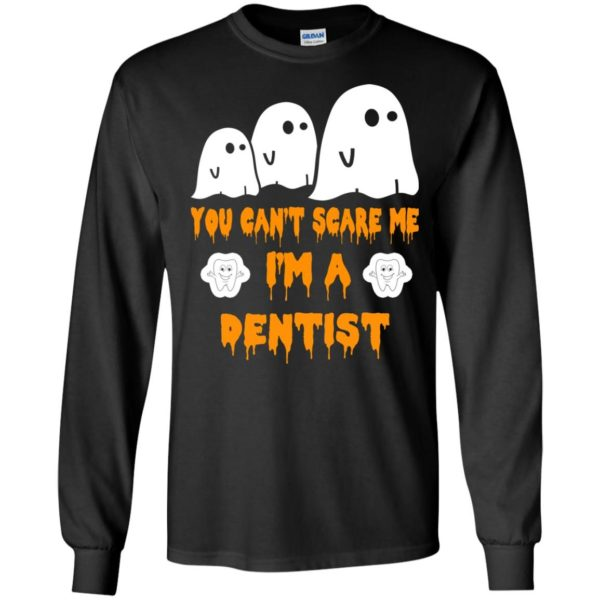 image 465 600x600 - You can't scare me I'm a Dentist shirt, hoodie, tank