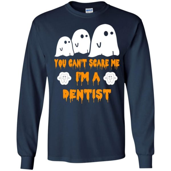 image 466 600x600 - You can't scare me I'm a Dentist shirt, hoodie, tank
