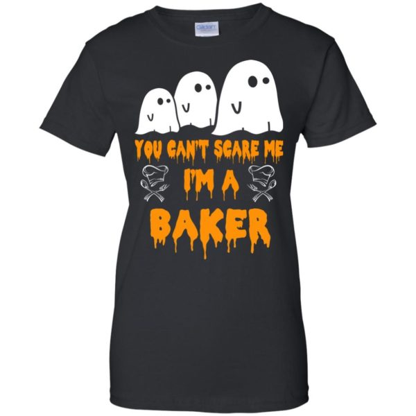 image 512 600x600 - You can't scare me I'm a Baker shirt, hoodie, tank