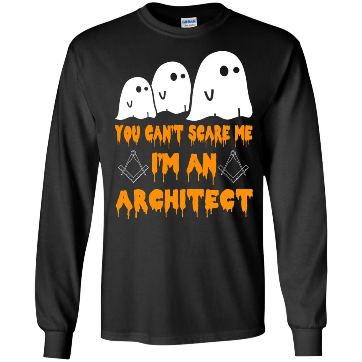 image 517 - You can't scare me I'm an Architect shirt, hoodie, tank