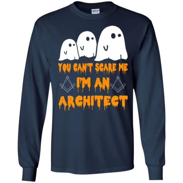 image 518 600x600 - You can't scare me I'm an Architect shirt, hoodie, tank