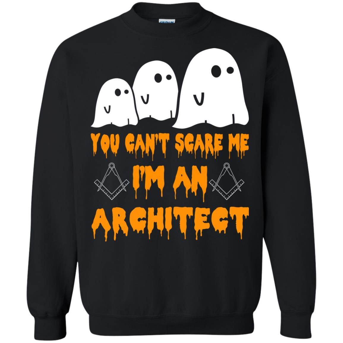 image 521 - You can't scare me I'm an Architect shirt, hoodie, tank