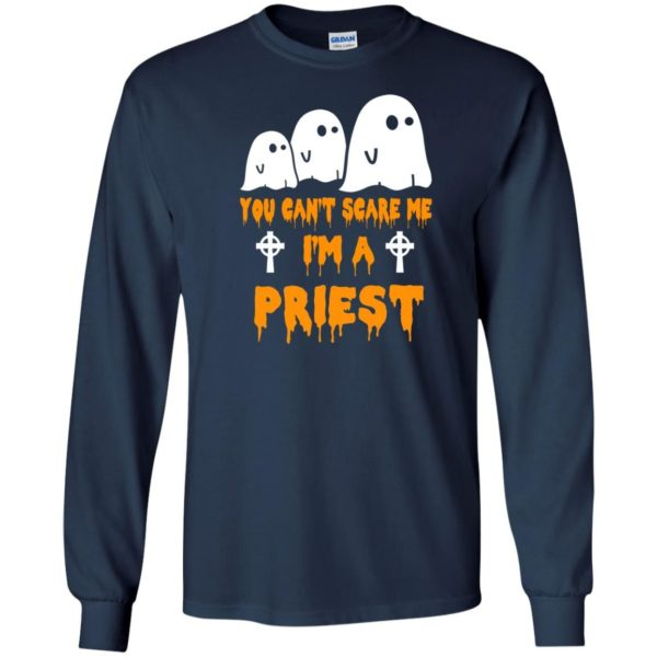 image 583 600x600 - You can't scare me I'm a Priest shirt, hoodie, tank