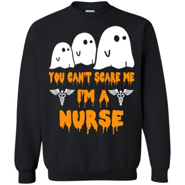 image 612 600x600 - You can't scare me I'm a Nurse shirt, hoodie, tank