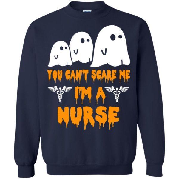 image 613 600x600 - You can't scare me I'm a Nurse shirt, hoodie, tank