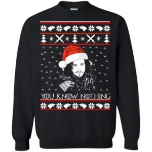 image 772 300x300 - Jon Snow: You Know Nothing Ugly Christmas Sweater, long sleeve