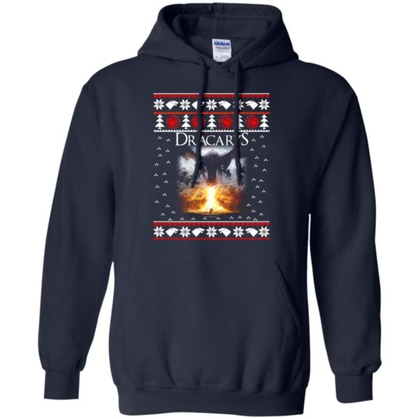 image 819 600x600 - Game of Thrones: Dracarys ugly Christmas sweater, hoodie, long sleeve