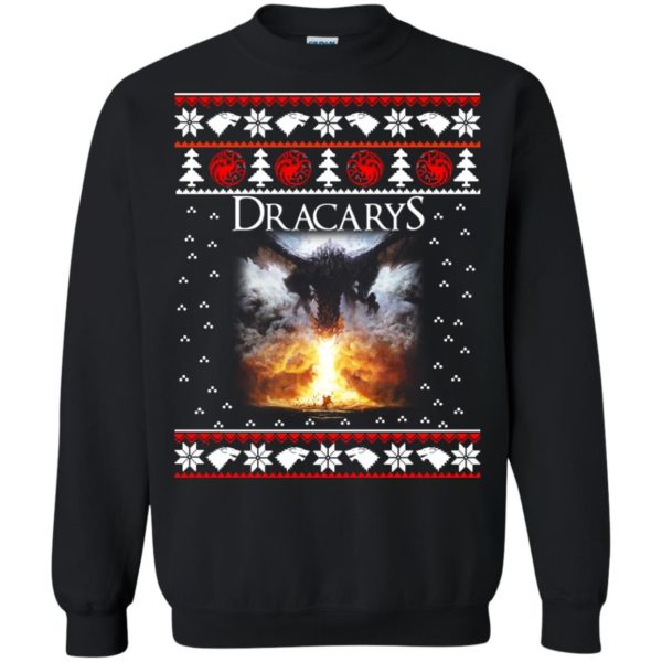image 820 600x600 - Game of Thrones: Dracarys ugly Christmas sweater, hoodie, long sleeve