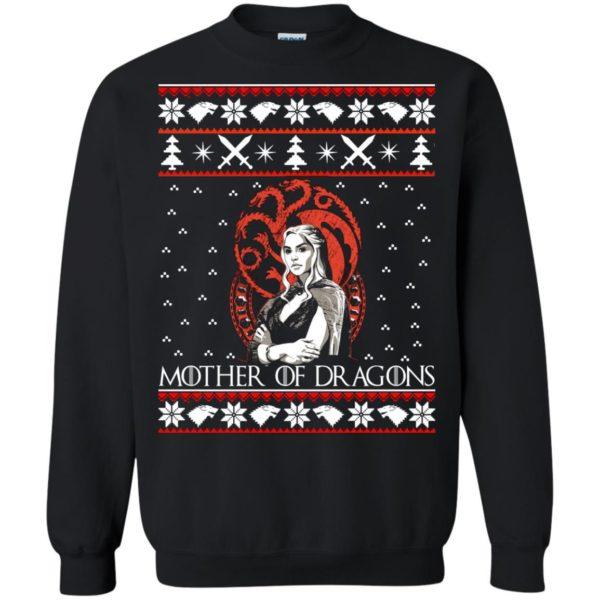 image 832 600x600 - Daenerys Targaryen: Mother of Dragons Christmas sweater, long sleeve