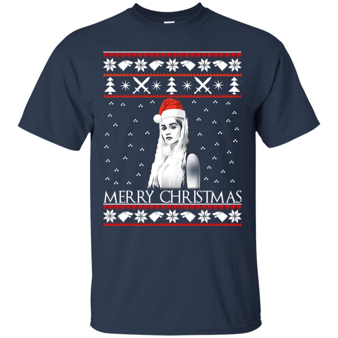 image 839 - Daenerys Targaryen: Merry Christmas ugly Sweatshirt, hoodie