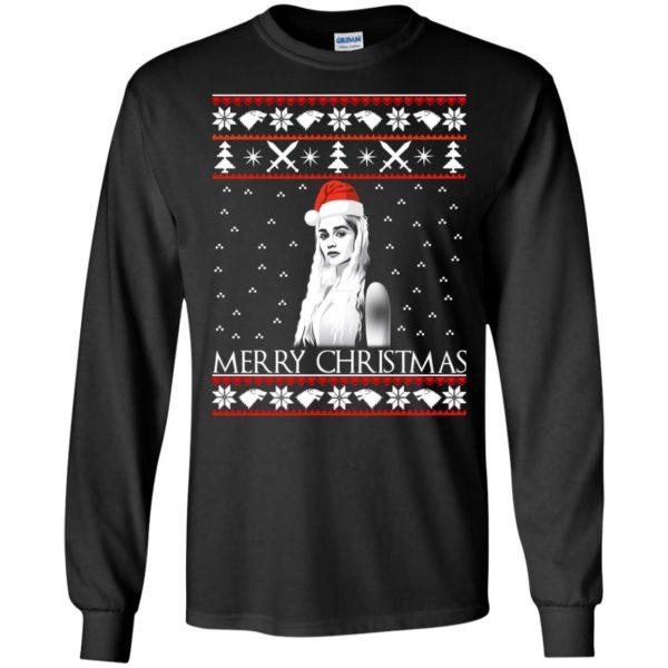 image 840 600x600 - Daenerys Targaryen: Merry Christmas ugly Sweatshirt, hoodie