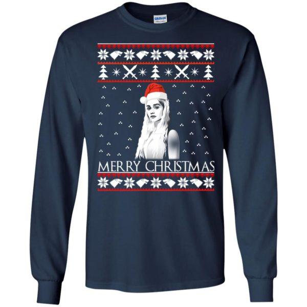 image 841 600x600 - Daenerys Targaryen: Merry Christmas ugly Sweatshirt, hoodie