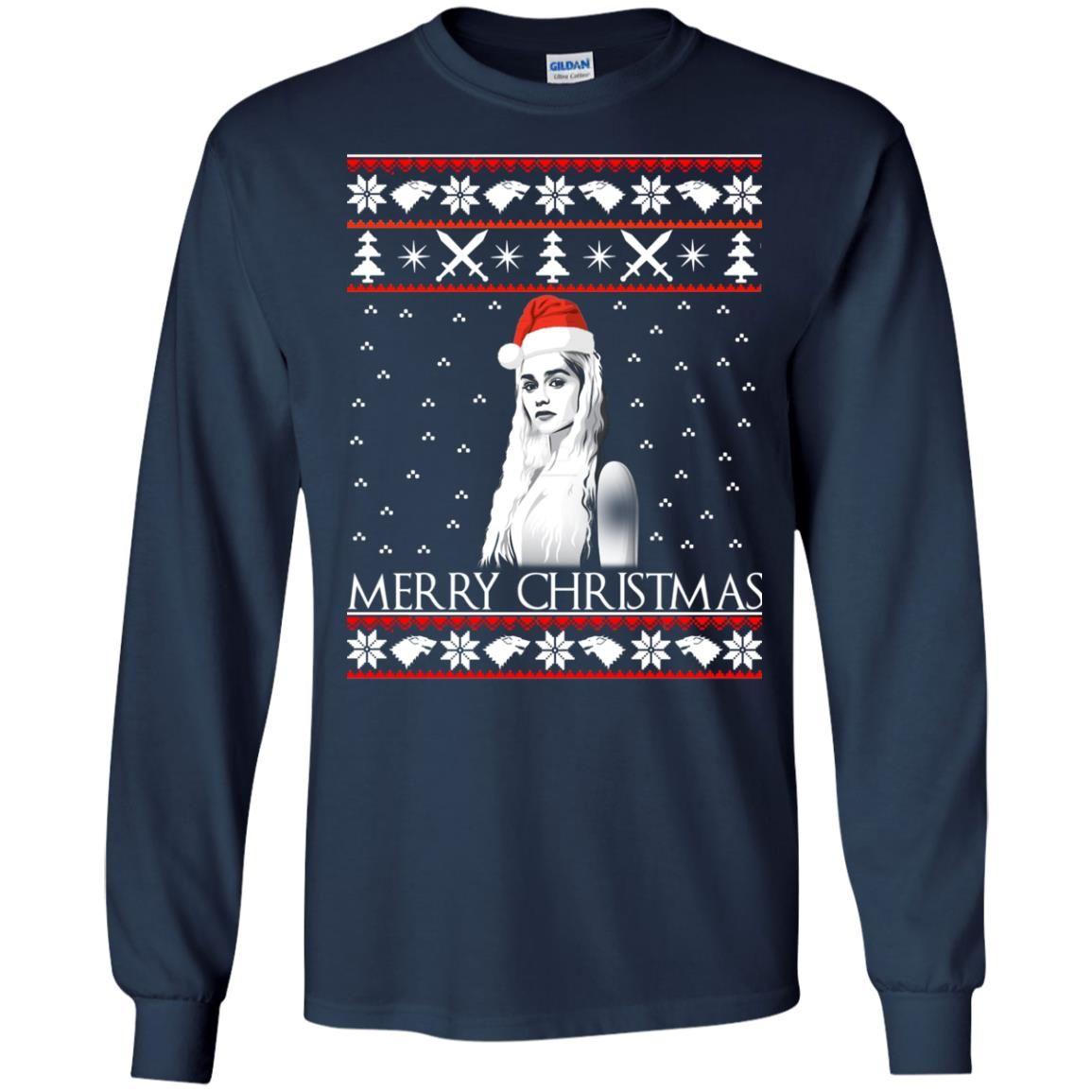 image 841 - Daenerys Targaryen: Merry Christmas ugly Sweatshirt, hoodie