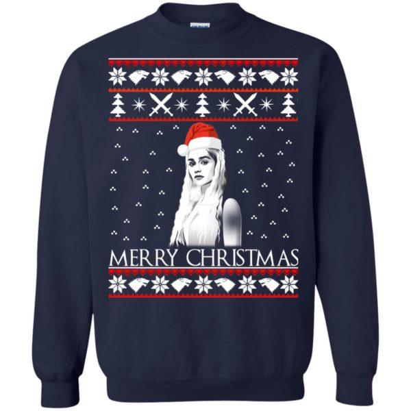 image 845 600x600 - Daenerys Targaryen: Merry Christmas ugly Sweatshirt, hoodie