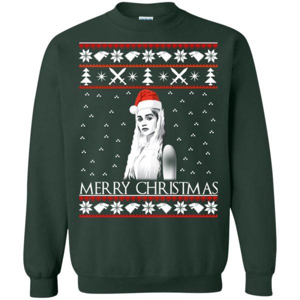image 847 600x600 - Daenerys Targaryen: Merry Christmas ugly Sweatshirt, hoodie