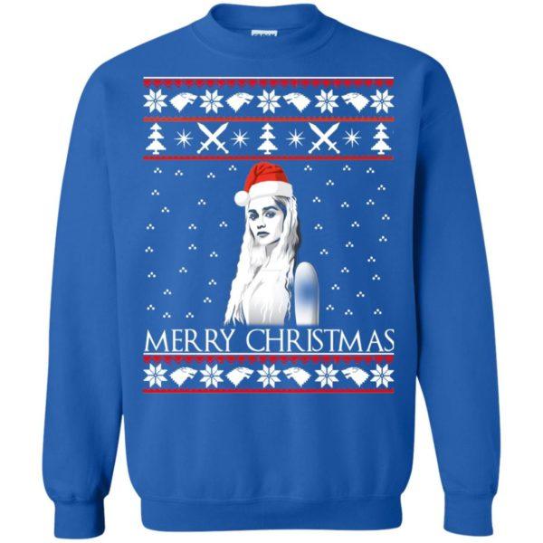image 848 600x600 - Daenerys Targaryen: Merry Christmas ugly Sweatshirt, hoodie