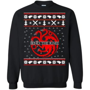 image 868 300x300 - Game of Thrones Bend the knee Christmas sweater, long sleeve