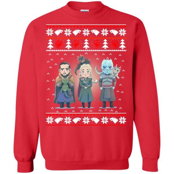 image 923 600x600 - Daenerys Targaryen Jon Snow Nigh King Ugly Christmas Sweater