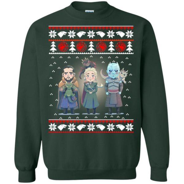 image 925 600x600 - Daenerys Targaryen Jon Snow Nigh King Ugly Christmas Sweater