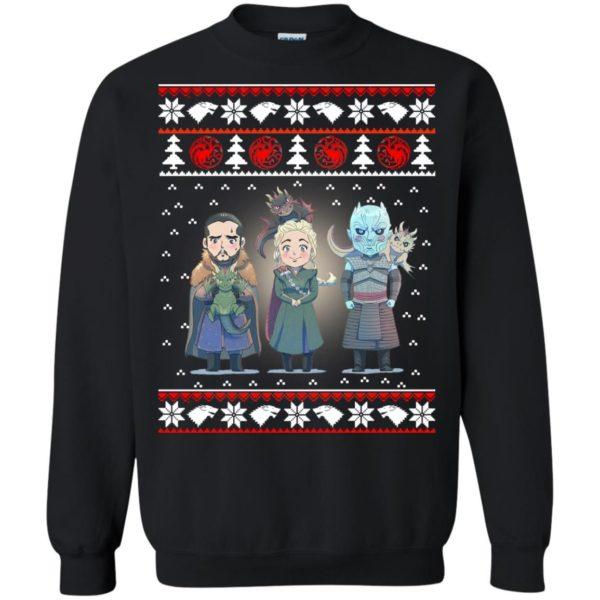 image 926 600x600 - Daenerys Targaryen Jon Snow Nigh King Ugly Christmas Sweater