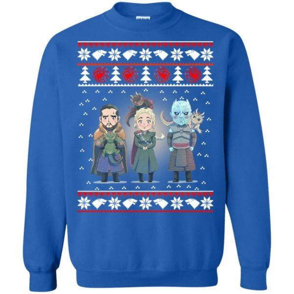 image 927 600x600 - Daenerys Targaryen Jon Snow Nigh King Ugly Christmas Sweater