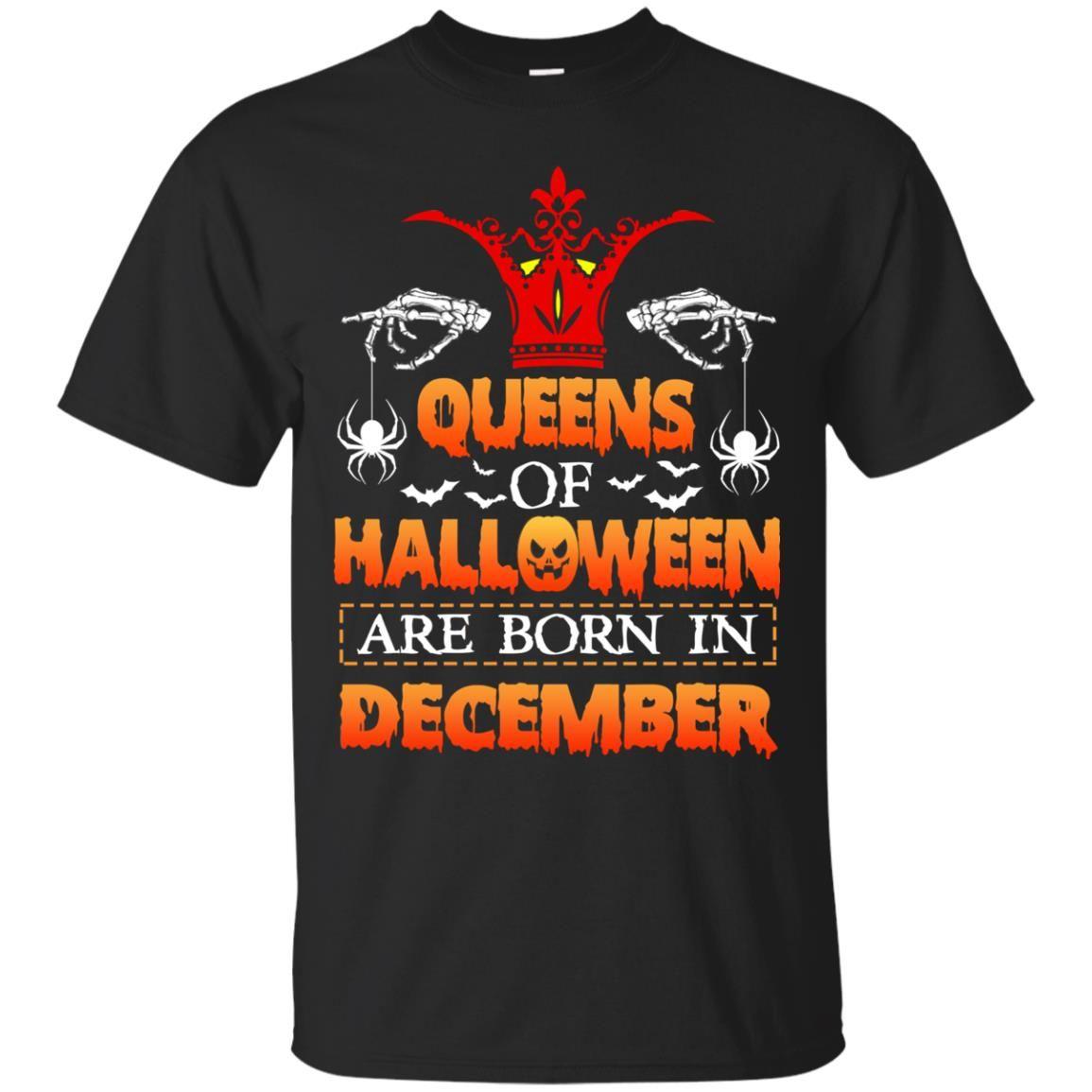 image 959 - Queens of Halloween are born in December shirt, tank top, hoodie