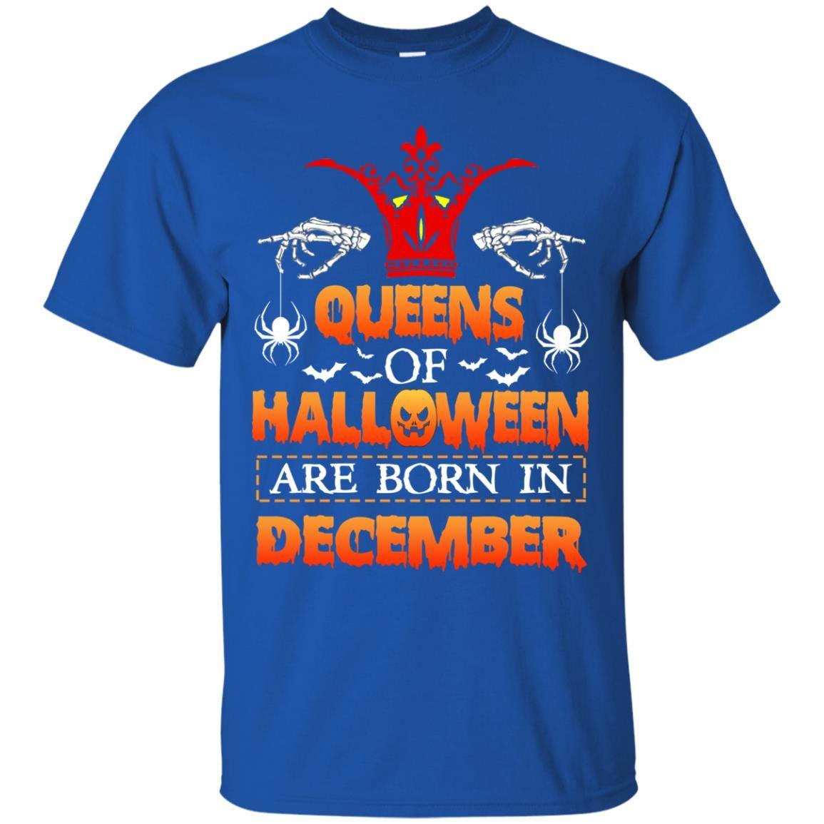 image 960 - Queens of Halloween are born in December shirt, tank top, hoodie