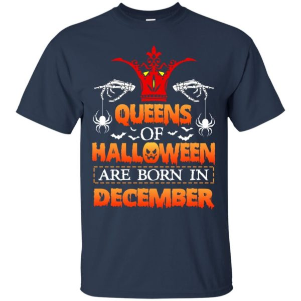 image 961 600x600 - Queens of Halloween are born in December shirt, tank top, hoodie