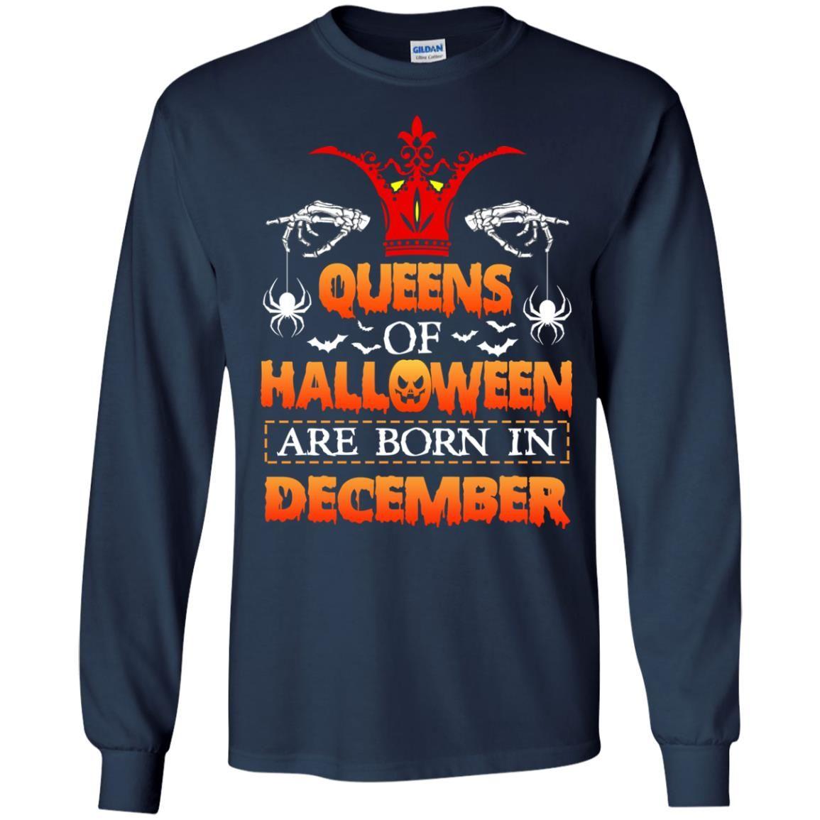 image 963 - Queens of Halloween are born in December shirt, tank top, hoodie