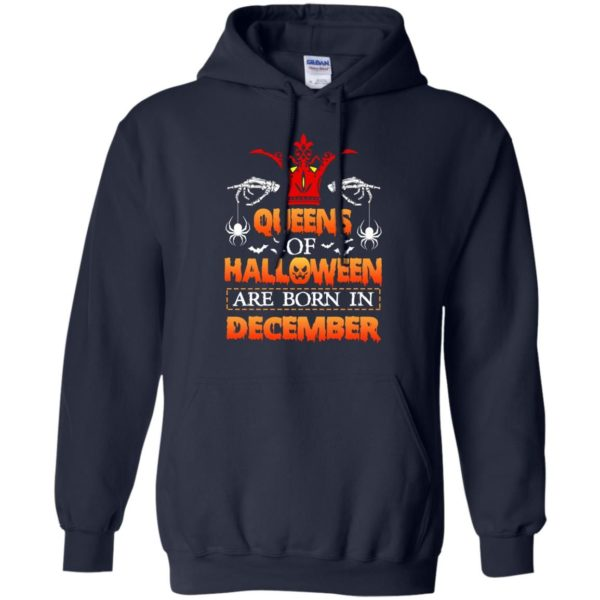 image 965 600x600 - Queens of Halloween are born in December shirt, tank top, hoodie