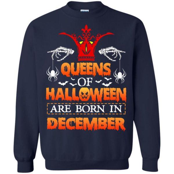 image 967 600x600 - Queens of Halloween are born in December shirt, tank top, hoodie