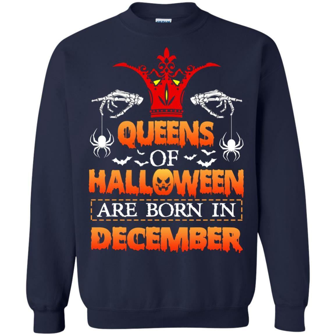 image 967 - Queens of Halloween are born in December shirt, tank top, hoodie