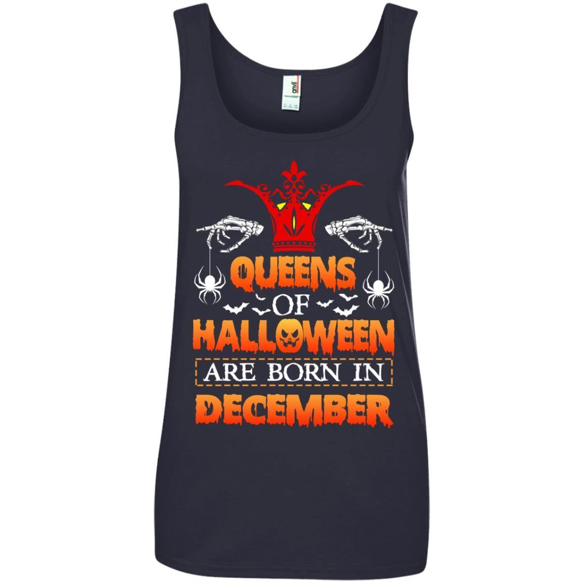 image 969 - Queens of Halloween are born in December shirt, tank top, hoodie